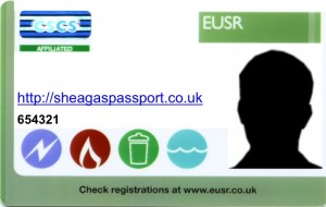 SHEA Gas Passport Card